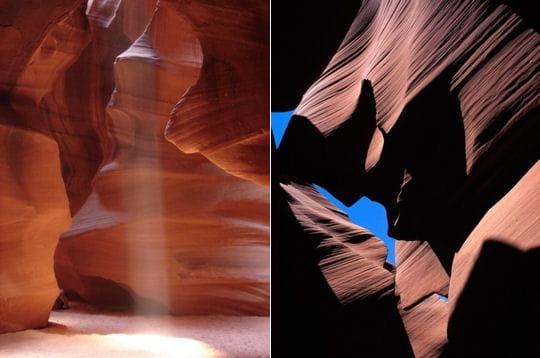 Un canyon aux couleurs étonnantes