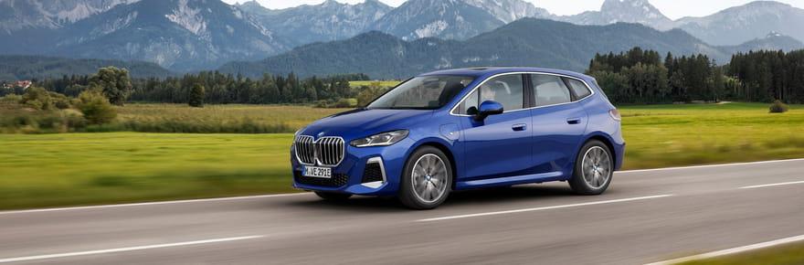 Le nouveau BMW Serie 2Active Tourer en photos