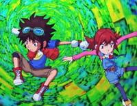 Digimon Fusion : Face à face dans la Zone des Disques
