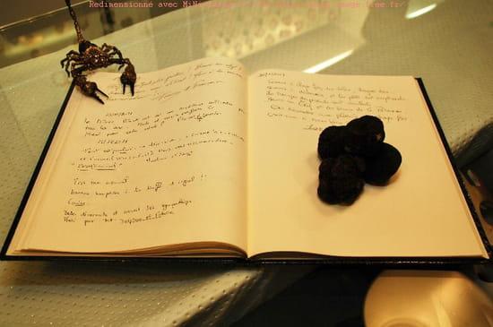 """Alchimie  - Livre d'or et truffes noires du """"Périgord"""" """"Mélanosporum"""" -   © Sébastien Chap'S"""