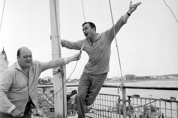 Gene Kelly à Cannes en 1959