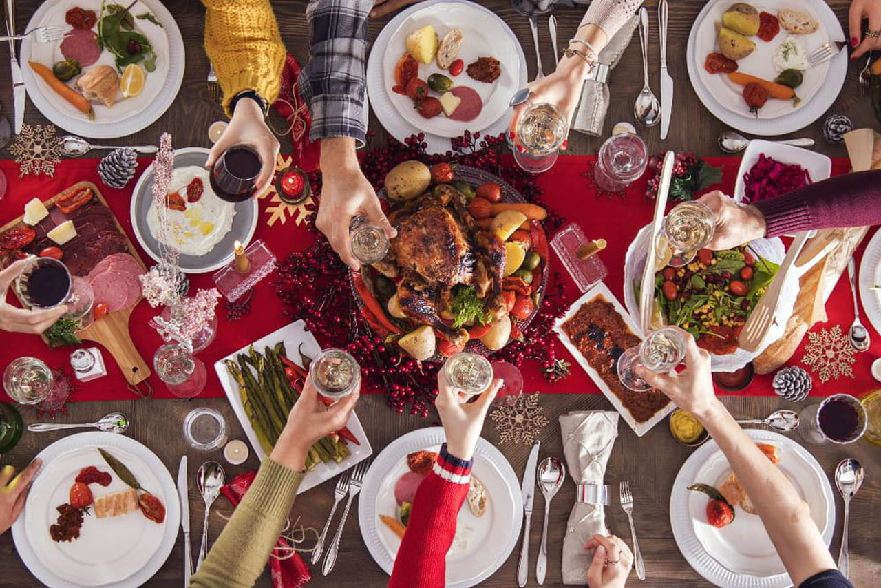 Menu Traditionnel De Noel.Article Similaire A Repas De Noel 2018 Plat Traditionnel