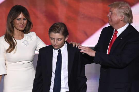 Barron Trump: souvenez-vous du fils de Donald Trump lors du discours de victoire