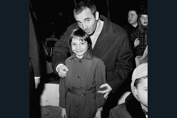Charles Aznavour et sa fille Seda