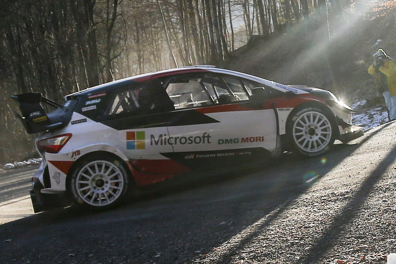 Rallye Monte-Carlo: le crash impressionnant de l'Estonien Tänak
