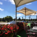 Restaurant : Restaurant du Mont Griffon  - View from our table on the terrace -