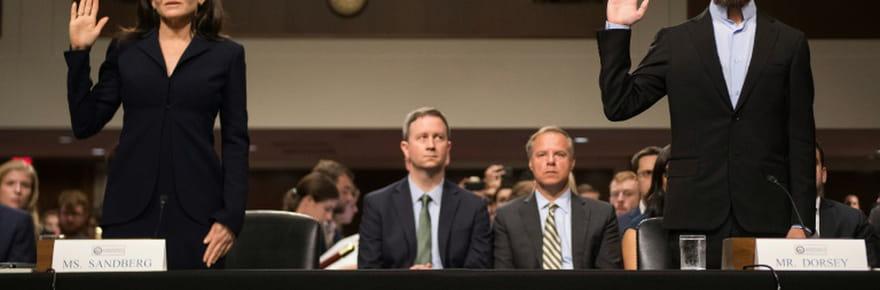 Accusés de partialité, Twitter, Google et Facebook dans le collimateur de la justice américaine
