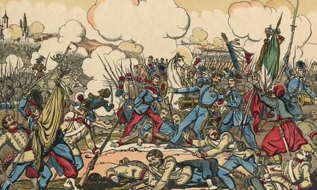 Bataille de Solférino, victoire de l'armée franco-piémontaise le 24 juin 1859