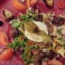 Entrée : La Méridiana  - Salade aux foies de vollaile -