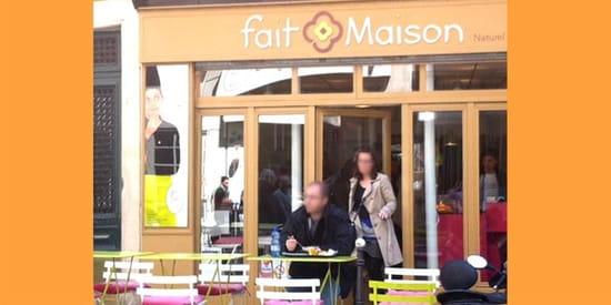Restaurant Fait Maison  - Livraison restaurant paris 9 -   © Fait Maison
