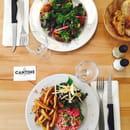 Plat : La Cantine  - Tartare et tartine végétarienne -   © SA