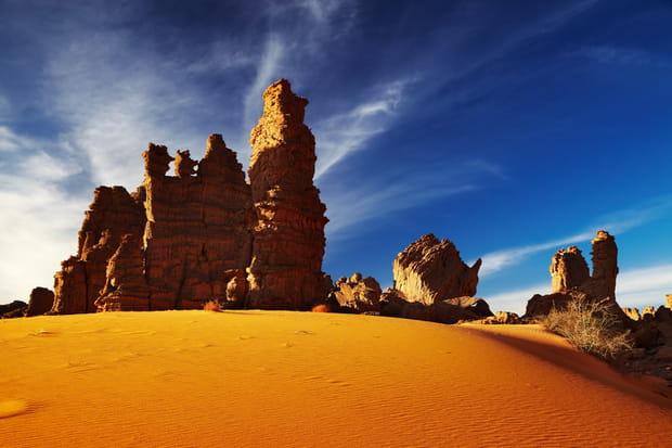 Désert du Tassili N'Ajjer, Algérie