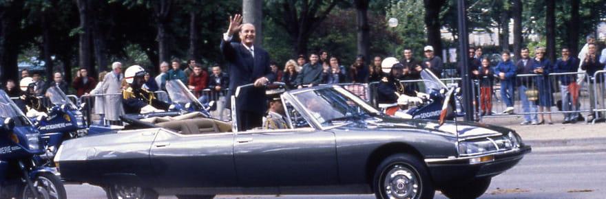 Les voitures qui ont marqué la vie de Jacques Chirac