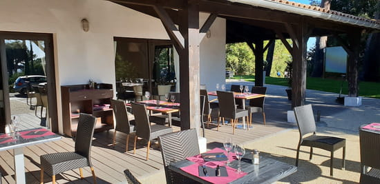 Restaurant : Le Play Off  - Terrasse -   © Le Play Off