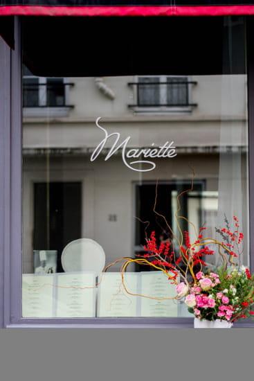 Entrée : Mariette  - Restaurant Mariette Extarieur -   © Mariette