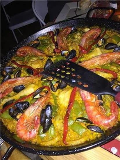 Paella de la Mer  - plat livré pour 6 -