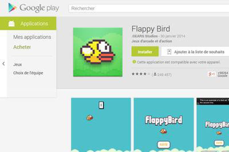 flappy bird le nouveau jeu qui cartonne