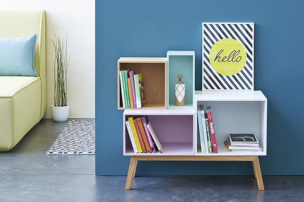 Un meuble modulaire agencer sa guise for Meuble bibliotheque modulaire