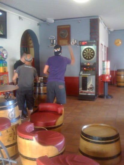 Café de la Gare  - Salle Bar - flechettes -
