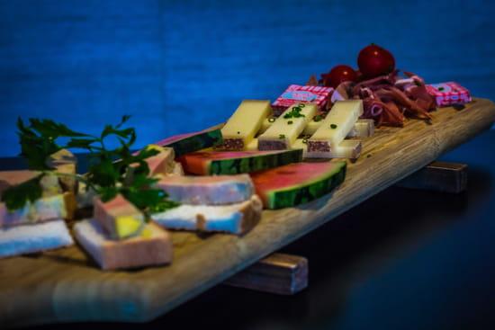 Entrée : Le QG  - Planche gourmande -   © Restaurant le QG