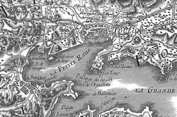 Toulon au XVIIIe siècle