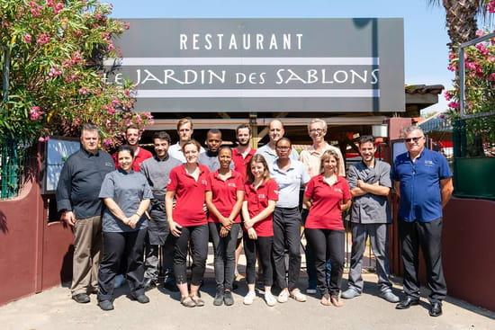 Restaurant : Le Jardin des Sablons  - Nouvelle équipe du Jardin des Sablons -   © Les Sablons