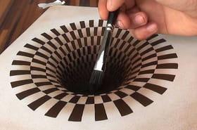 Ces images à l'effet 3D plus vrai que nature