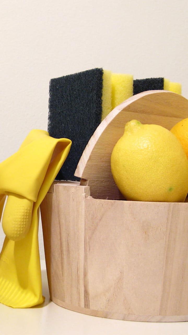 Nettoyer Lunette Toilettes Vinaigre Blanc désodoriser avec du citron