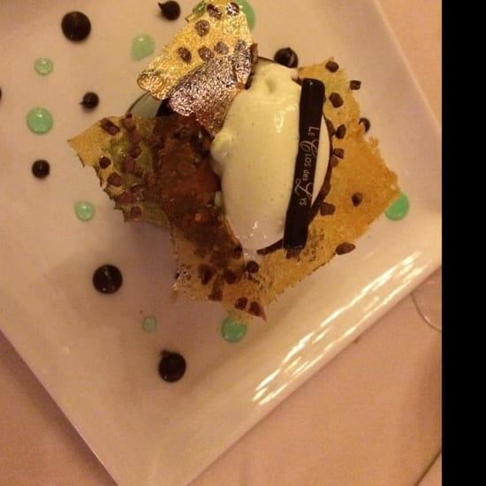 Dessert : Le Clos des Lys  - Le choc menthe  -