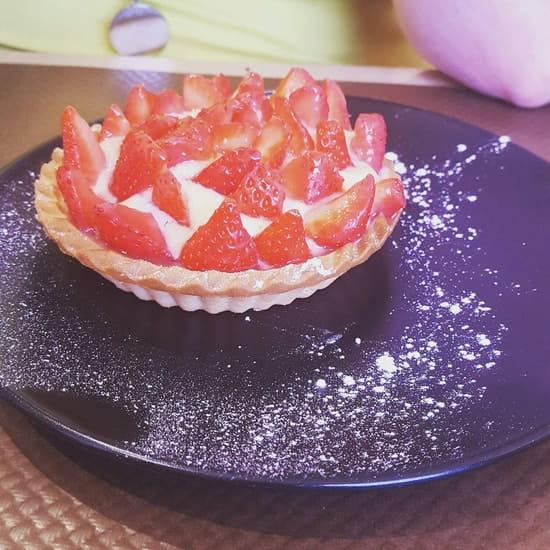 Dessert : L'Origan  - Tartelette aux fraises -