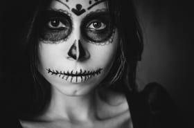 La Catrina et la nonne démoniaque, maquillage facile pour Halloween