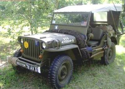 louer une jeep militaire de 1944. Black Bedroom Furniture Sets. Home Design Ideas