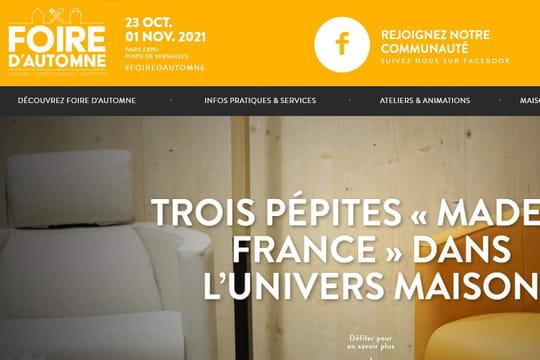 Foire d'Automne 2021à Paris: une édition très attendue