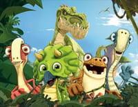 Gigantosaurus : Il faut sauver Ayati. - La crevasse