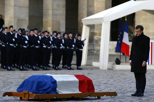 Jean d'Ormesson: l'hommage national rendu à l'Immortel