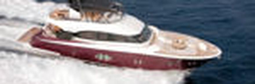 Le MCY 76, premier yacht de Bénéteau