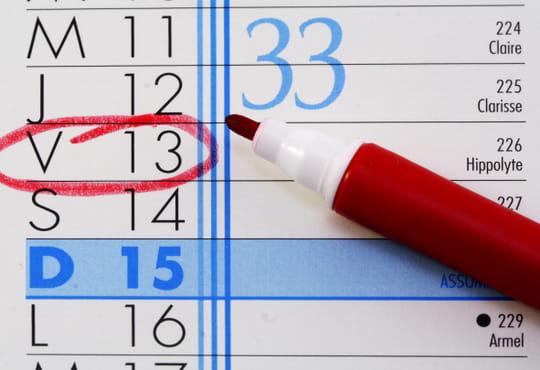 Vendredi 13: ces événements chanceux ou non ont eu lieu un vendredi13