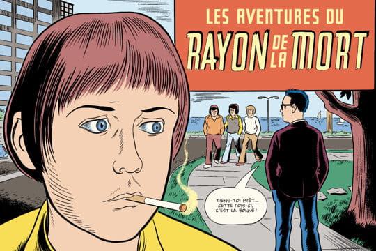 """""""Le Rayon de la mort"""": une BD tragi-comics"""