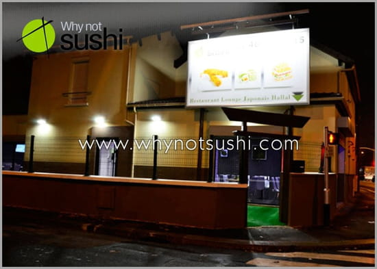 Why Not Sushi  - exterieur -   © WHY NOT SUSHI