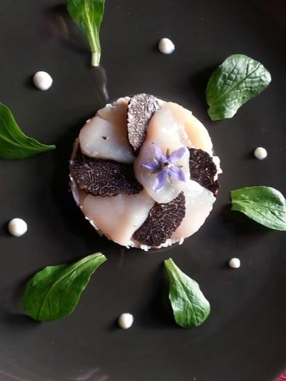 La Closerie de Kerdrain  - Coquilles St-Jacques, truffes, crèmeux de céleri -