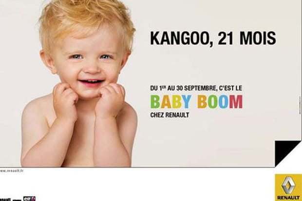 Renault baby boom for Baby boom salon