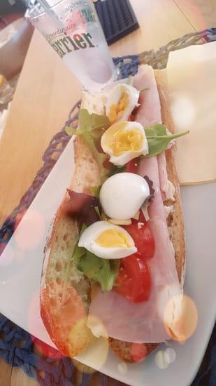 Plat : Le Point du Jour  - Sandwich -   © Pej