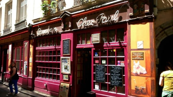 Restaurant : Chez Paul  - Façade  -