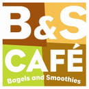 B&S Café Bagels and Smoothies  - Notre logo -