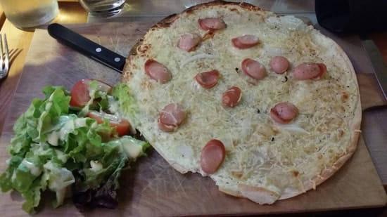 Plat : La soupe aux choux  - Flamenkuch alsacienne -