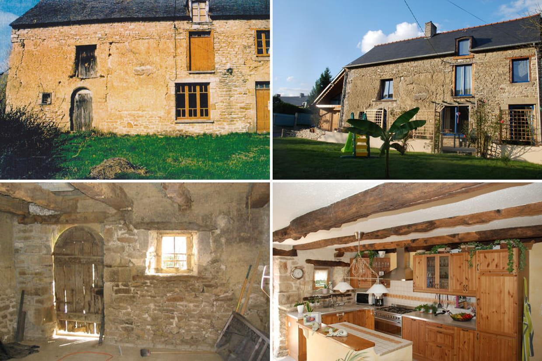 Avant apr s 30 maisons r nov es par les lecteurs - Photo de renovation de maison ...