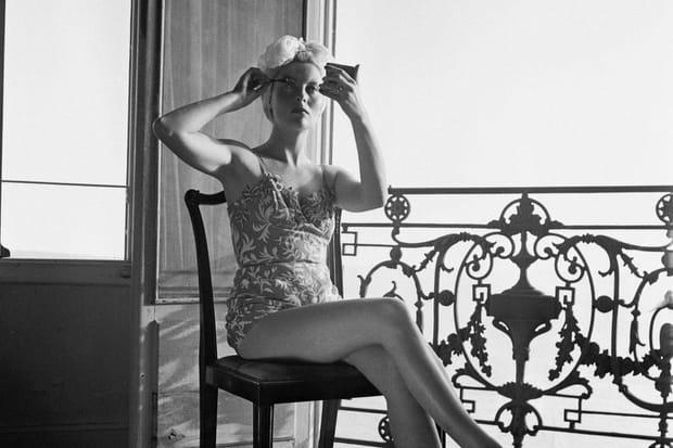Michèle Morgan à Cannes en 1946