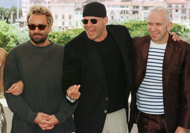 Luc Besson et Bruce Willis, en mode bad boys