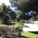 BEST WESTERN Hôtel des Thermes*** - Restaurant Le LAMPARO  - Vue sur le parc depuis la terrasse du Lamparo -   © O.MARTIN