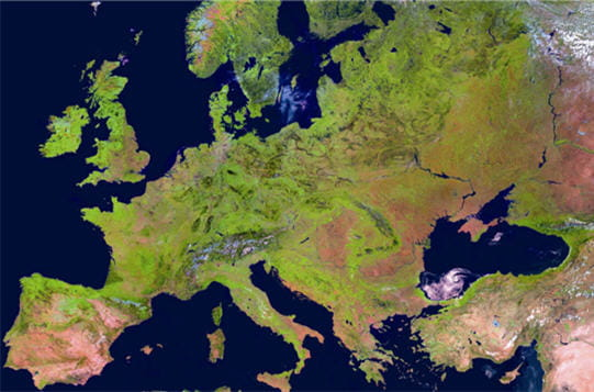 Europe satellitaire